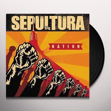 Sepultura NATION Vinyl Record - 180 Gram Pressing