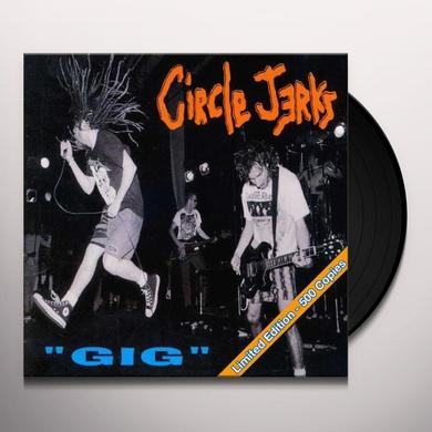 Circle Jerks GIG Vinyl Record