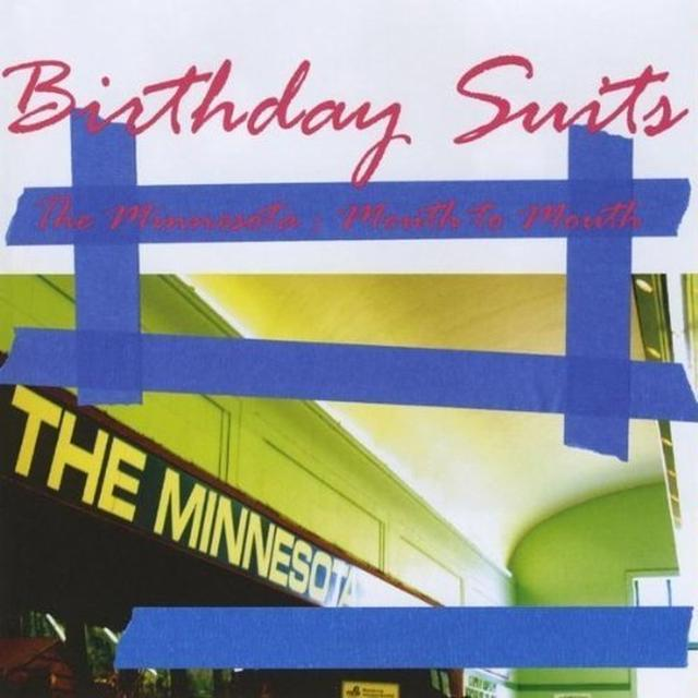 Birthday Suits MINNESOTA MOUTH TO MOUTH Vinyl Record