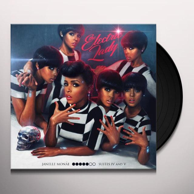 Janelle Monae ELECTRIC LADY Vinyl Record