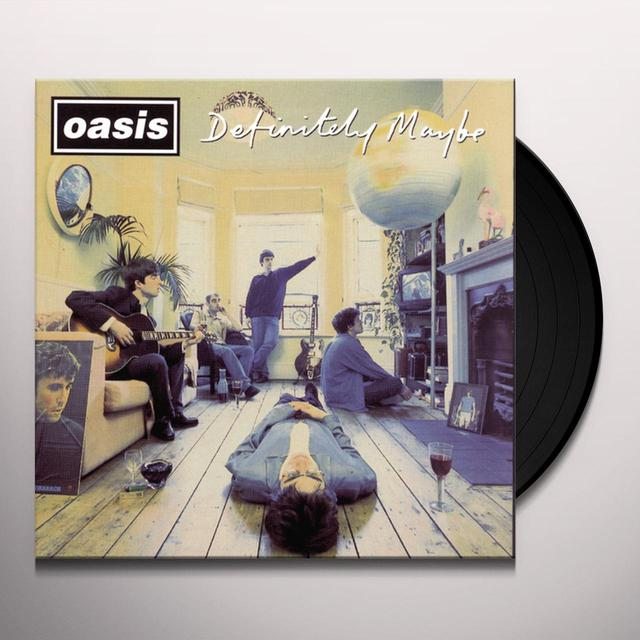 Oasis DEFINITELY MAYBE Vinyl Record