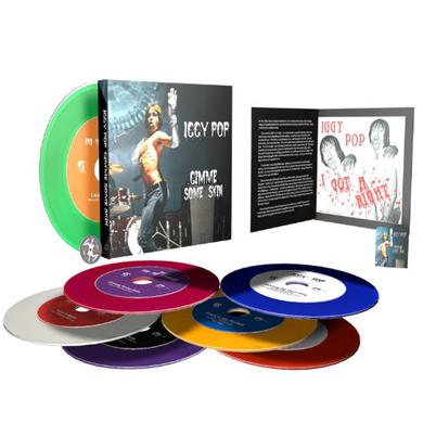 Iggy Pop GIMME SOME SKIN-THE 7 Vinyl Record