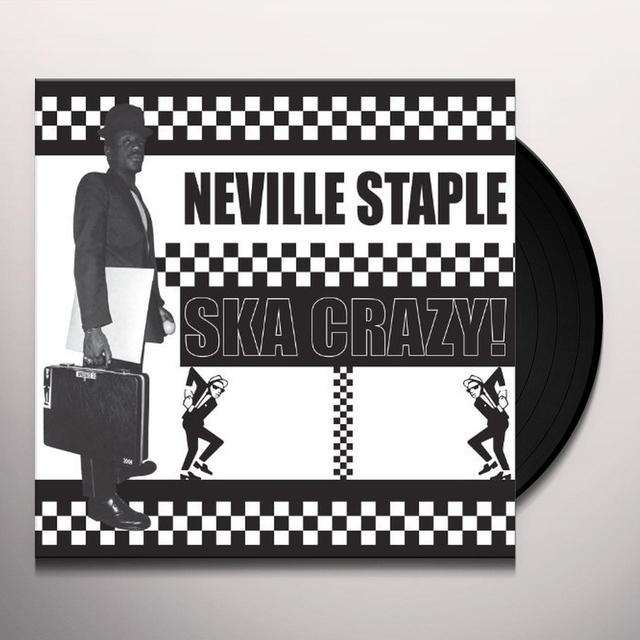 Neville Staple SKA CRAZY Vinyl Record