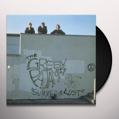 Green Pajamas SUMMER OF LUST Vinyl Record
