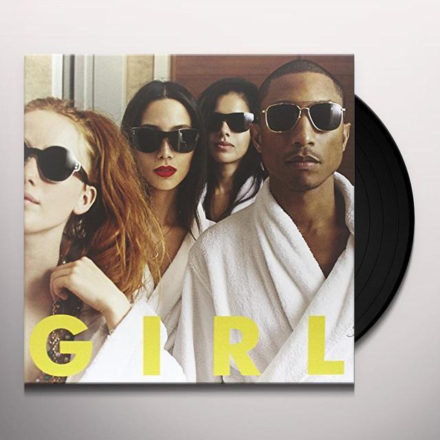 Pharrell Williams G I R L Vinyl Record - Digital Download Included