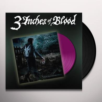 3 Inches Of Blood LIVE AT MUSHROOM 1 Vinyl Record