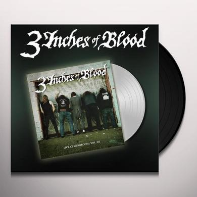 3 Inches Of Blood LIVE AT MUSHROOM 3 Vinyl Record