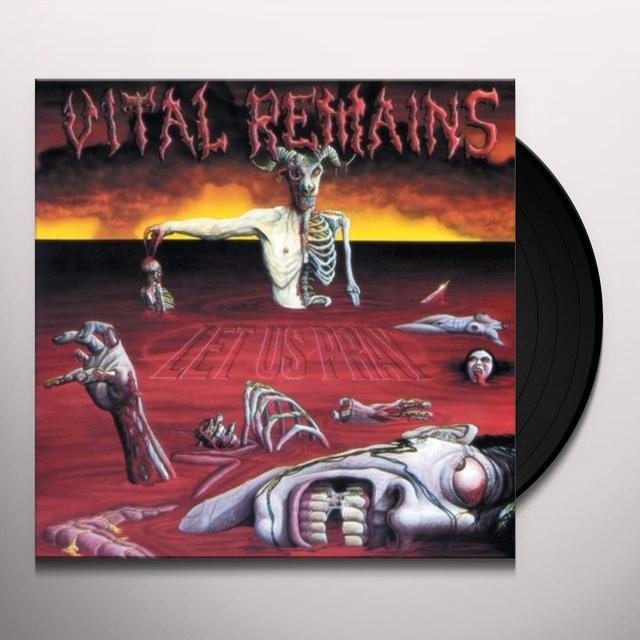 Vital Remains LET US PRAY Vinyl Record
