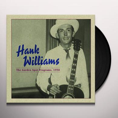Hank Williams GARDEN SPOT PROGRAM 1950 Vinyl Record