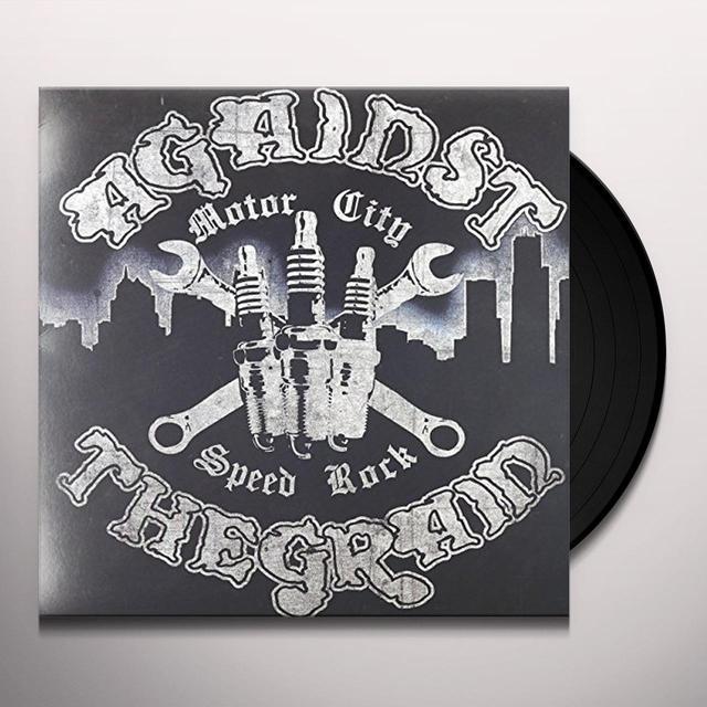 Against The Grain MOTOR CITY SPEED ROCK Vinyl Record