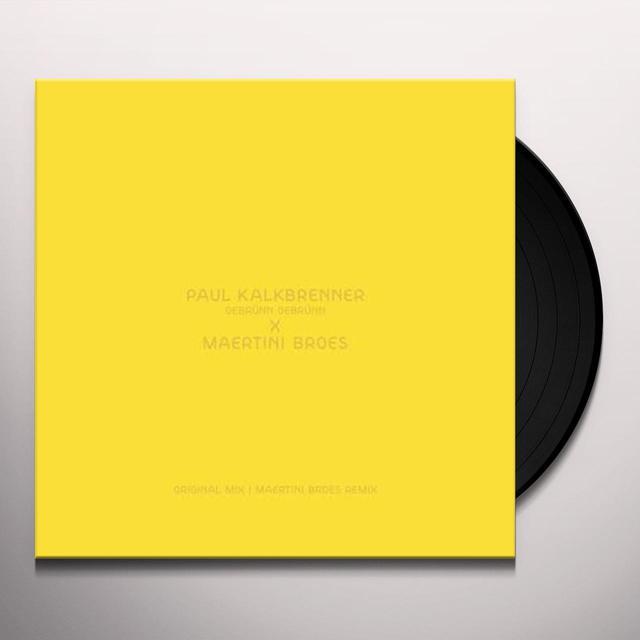 Paul Kalkbrenner GEBRUNN GEBRUNN Vinyl Record