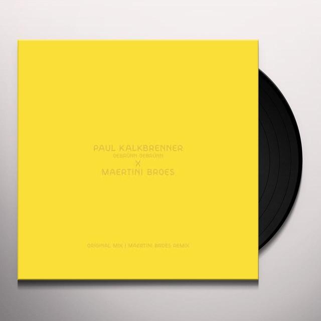 Paul Kalkbrenner GEBRUNN GEBRUNN (EP) Vinyl Record
