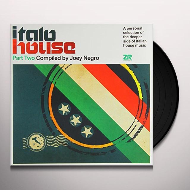 Joey Negro ITALO HOUSE PT 1 Vinyl Record