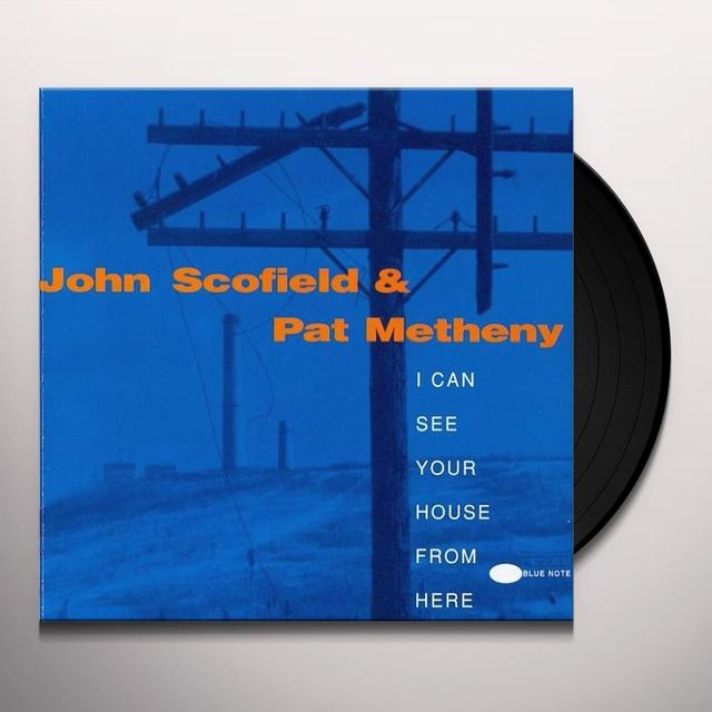 John Scofield I CAN SEE YOUR HOUSE FROM HERE Vinyl Record - Gatefold Sleeve, Limited Edition, 180 Gram Pressing