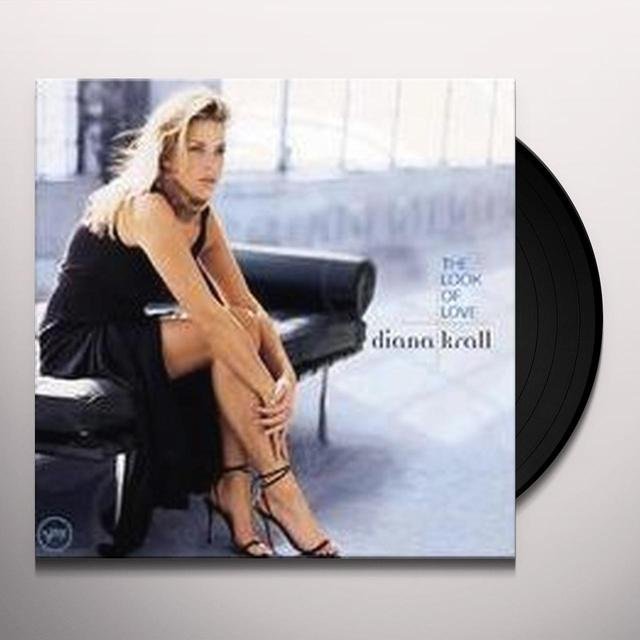 Diana Krall LOOK OF LOVE Vinyl Record - Gatefold Sleeve, Limited Edition, 180 Gram Pressing