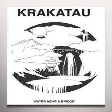 Krakatau WATER NEAR A BRIDGE Vinyl Record - White Vinyl