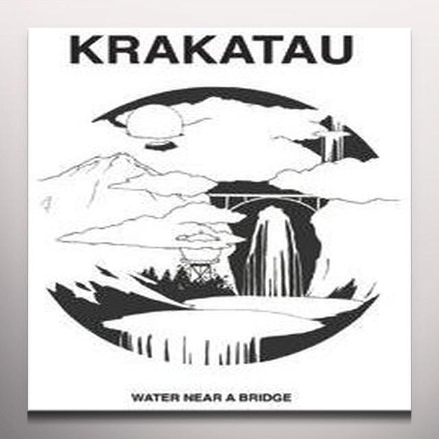 Krakatau WATER NEAR A BRIDGE Vinyl Record - White Vinyl