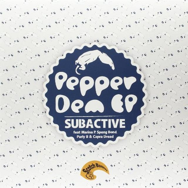 Subactive PEPPER DEM EP Vinyl Record