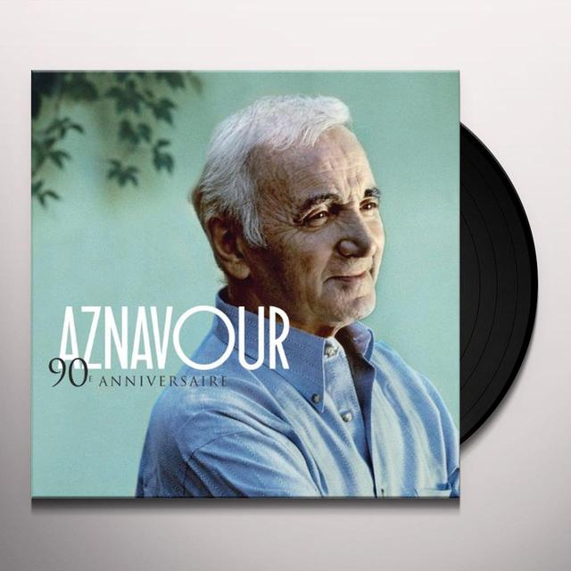 Charles Aznavour 90E ANNIVERSAIRE Vinyl Record