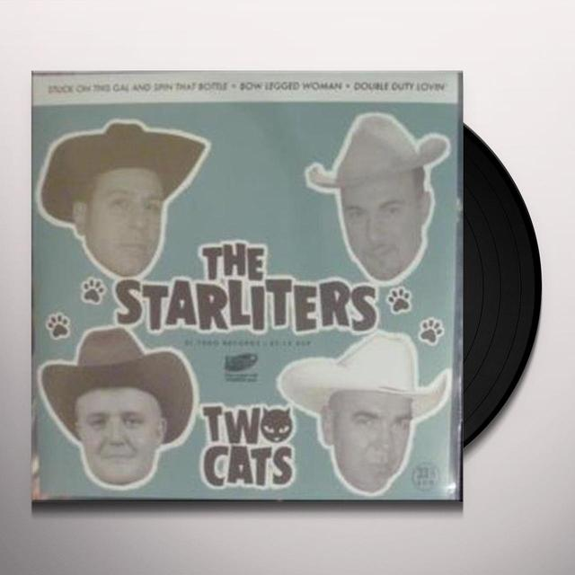 Starliters TWO CATS Vinyl Record