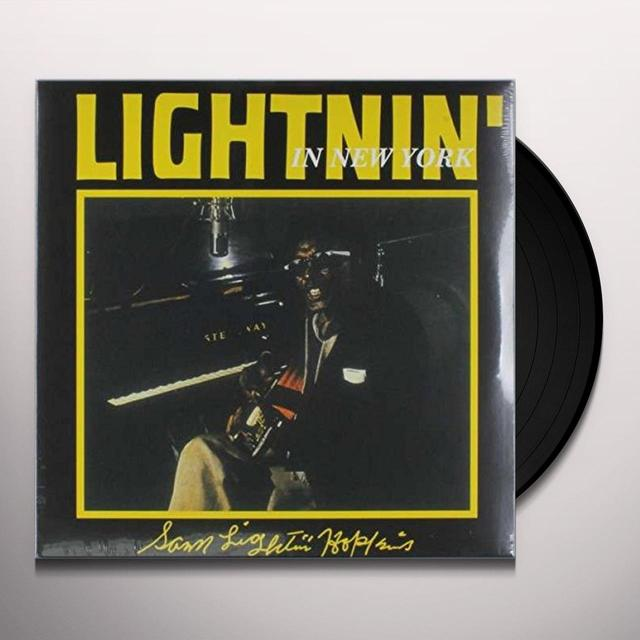 Lightnin' Hopkins on Spotify LIGHTNIN IN NEW YORK Vinyl Record - Limited Edition