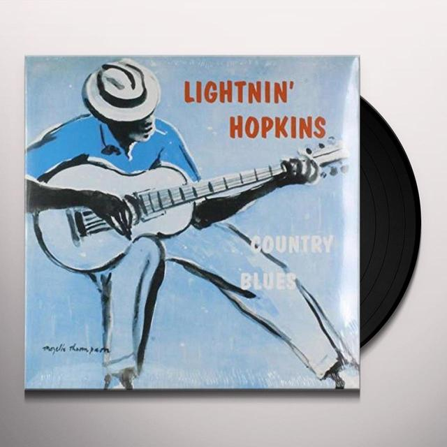Lightnin' Hopkins on Spotify COUNTRY BLUES Vinyl Record - Limited Edition