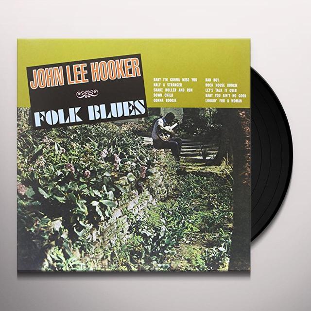 John Lee Hooker FOLK BLUES Vinyl Record