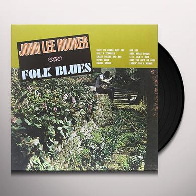 John Lee Hooker FOLK BLUES Vinyl Record - UK Import