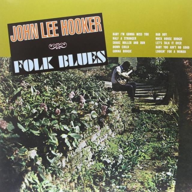 John Lee Hooker FOLK BLUES Vinyl Record - UK Import