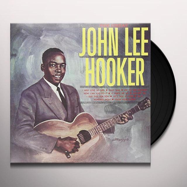 John Lee Hooker GREAT J.L. HOOKER Vinyl Record