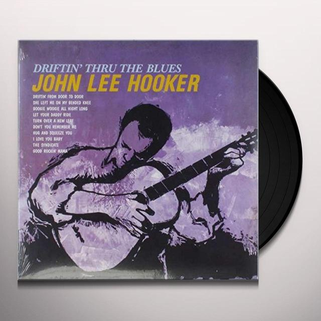 John Lee Hooker DRIFTIN TO THE BLUES Vinyl Record - UK Import