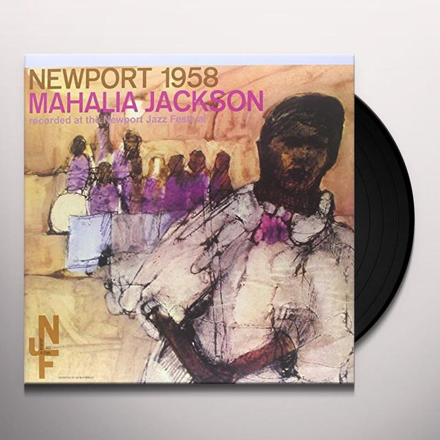 Mahalia Jackson NEWPORT 1958 Vinyl Record