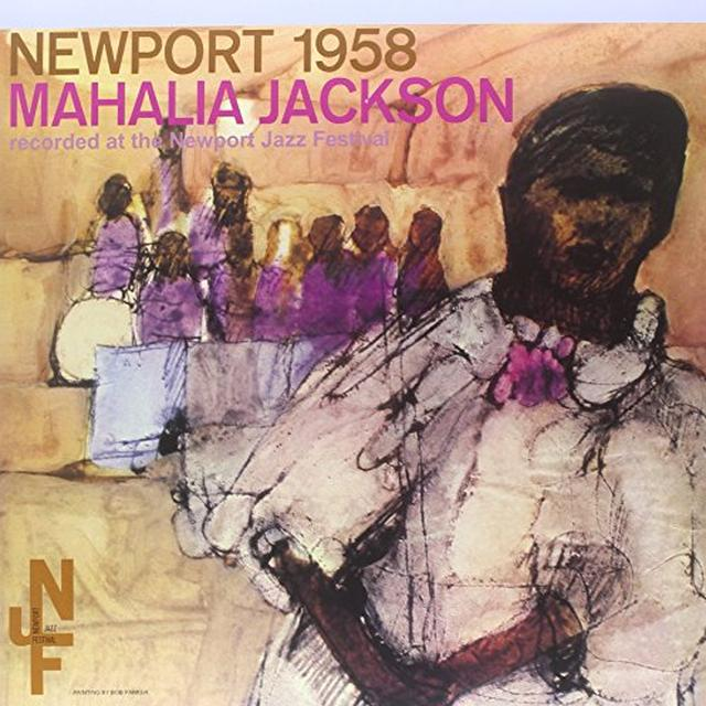 Mahalia Jackson NEWPORT 1958 Vinyl Record - Limited Edition