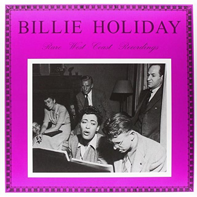 Billie Holiday RARE WEST COAST RECORDINGS Vinyl Record - Limited Edition