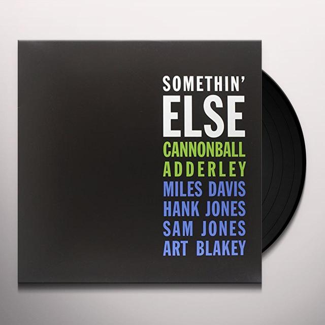 Cannonball Adderley SOMETHIN ELSE (LTD) (Vinyl)