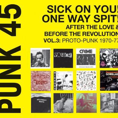 Soul Jazz Records Presents PUNK 45: VOL 3 PROTO-PUNK 1969-76 Vinyl Record