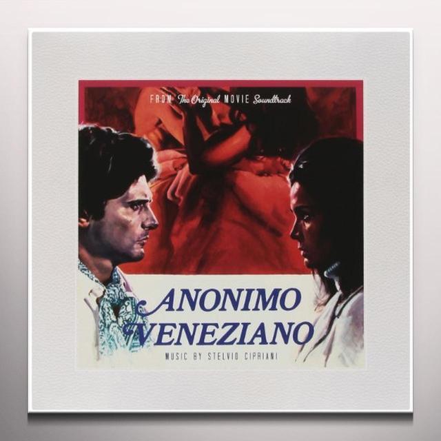 Anonimo Veneziano / O.S.T. (Red) (Ltd) (Ogv) ANONIMO VENEZIANO / O.S.T. Vinyl Record