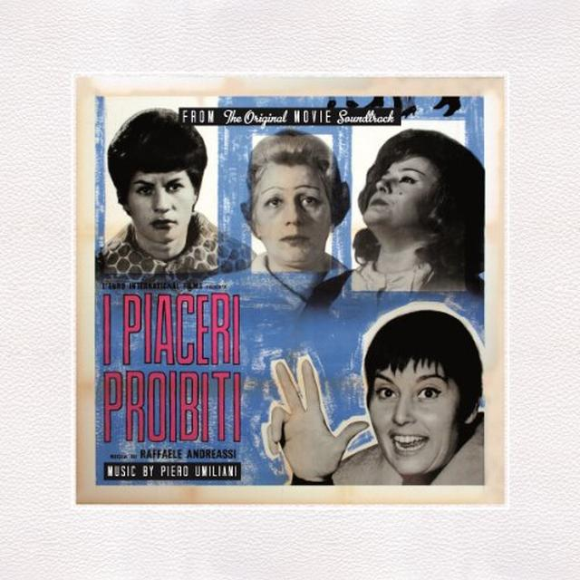 I Piaceri Proibiti / O.S.T. (Blue) (Ltd) (Ogv) I PIACERI PROIBITI / O.S.T. Vinyl Record