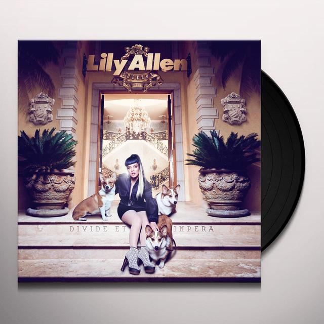 Lily Allen SHEEZUS (BONUS CD) Vinyl Record - 180 Gram Pressing
