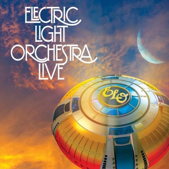 elo electric light orchestra live vinyl record