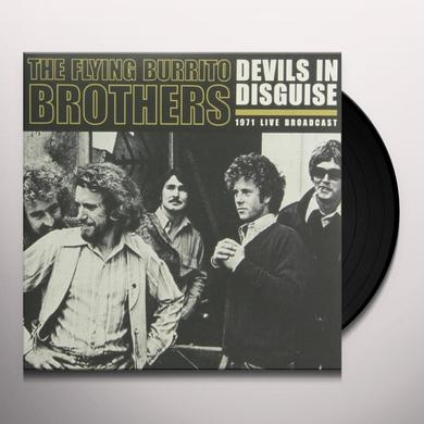 The Flying Burrito Brothers DEVILS IN DISGUISE Vinyl Record - Limited Edition, 180 Gram Pressing