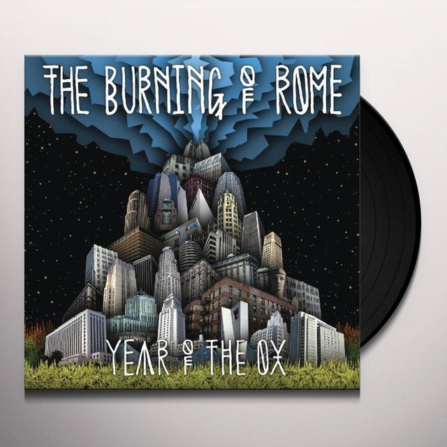 Burning Of Rome YEAR OF THE OX Vinyl Record