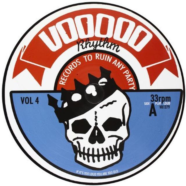 Voodoo Rhythm Compilation / Various VOODOO RHYTHM COMPILATION VOL 4 / VARIOUS Vinyl Record