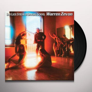 Warren Zevon BAD LUCK STREAK IN DANCING SCHOOL Vinyl Record - Gatefold Sleeve, Limited Edition