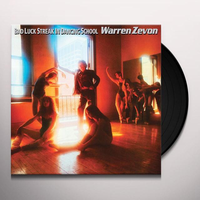 Warren Zevon BAD LUCK STREAK IN DANCING SCHOOL Vinyl Record