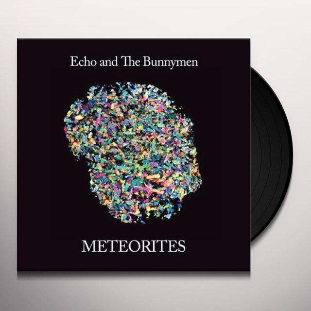 Echo & the Bunnymen METEORITES Vinyl Record - 180 Gram Pressing
