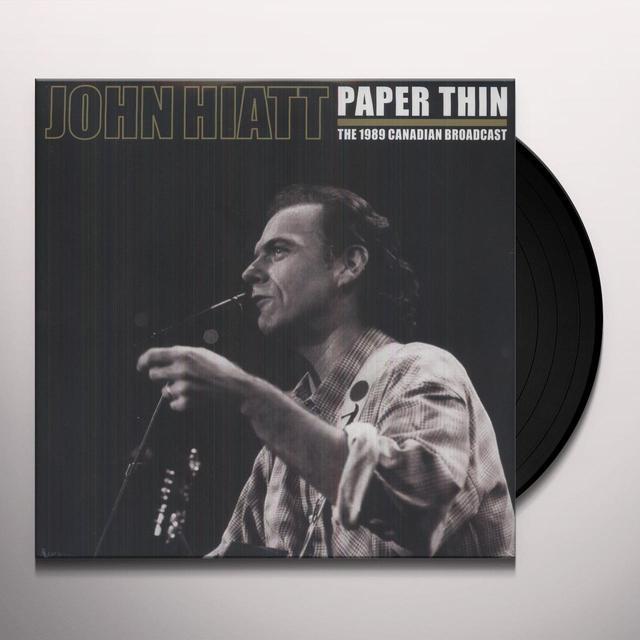 John Hiatt PAPER THIN Vinyl Record - Limited Edition, 180 Gram Pressing