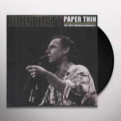 John Hiatt PAPER THIN Vinyl Record - Limited Edition, 180 Gram Pressing