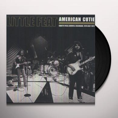 Little Feat AMERICAN CUTIE Vinyl Record