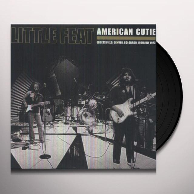 Little Feat AMERICAN CUTIE Vinyl Record - Limited Edition, 180 Gram Pressing